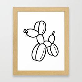 Outline pattern of modern art Framed Art Print