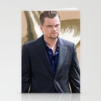 inception Stationery Cards featuring Inception - Cobb by Mel Hampson