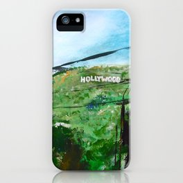 Hollywood iPhone Case