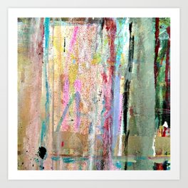 Colorful Bohemian Abstract 1 Art Print