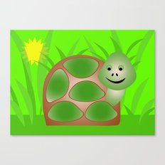 Little Turtle Canvas Print