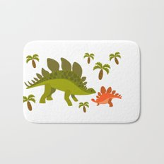 Dinos - Mom and baby Bath Mat