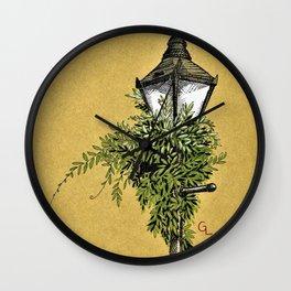 Overgrown Wall Clock