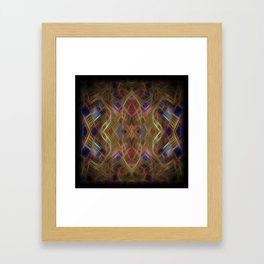 Journey To The Centre Of A Thoughtwave Framed Art Print