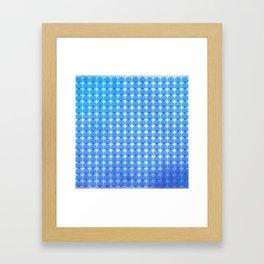 Shells Pattern Framed Art Print