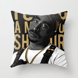 Shakur Throw Pillow