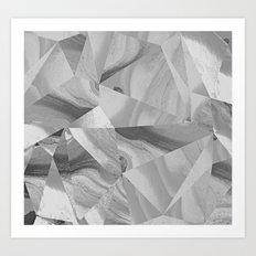 Irregular Marble II Art Print