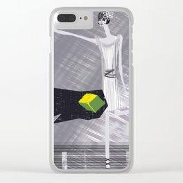 Charleston & Meteorites Clear iPhone Case
