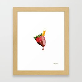 Drunken Berry Framed Art Print