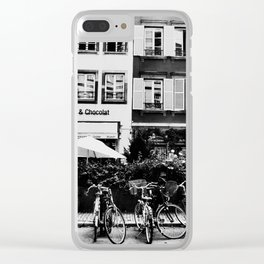 french buildings Clear iPhone Case