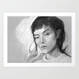Charcoal Drawing No. 3 Art Print