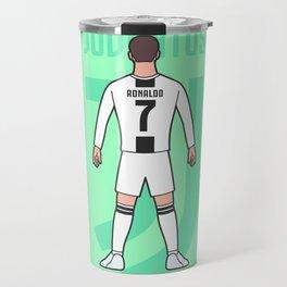 Cristiano arrives in Turin Travel Mug