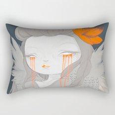 Hawaiian Raven Rectangular Pillow