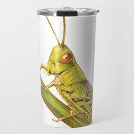 Grasshopper by Lars Furtwaengler   Colored Pencil / Pastel Pencil   2014 Travel Mug