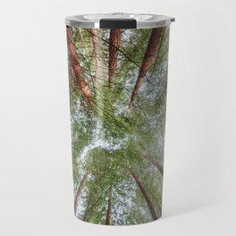 Looking Up - Redwood forest Travel Mug