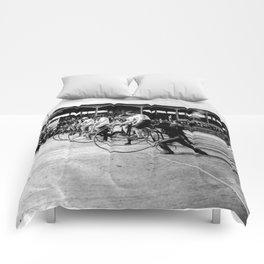 Bicycle race Comforters