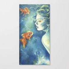 Abissi Canvas Print