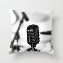 Feel The music Throw Pillow