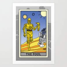The Fool - Tarot Card Art Print