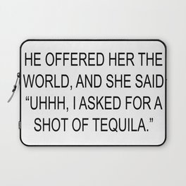 Tequila Laptop Sleeve