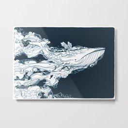 Prichard Whale Metal Print
