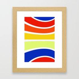 Pattern 2018 002 Framed Art Print