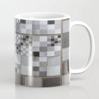 chess Mugs featuring Chess  by Geometric Arte Studio