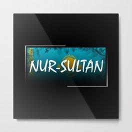 Nur-Sultan Metal Print
