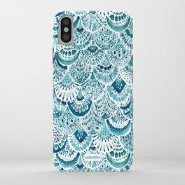 MERM ARMOR Indigo Mermaid Scales iPhone Case