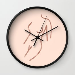 Her Body Wall Clock