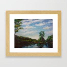 Ware River Framed Art Print