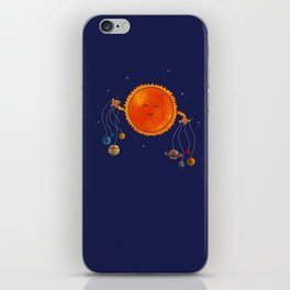 Plantary Puppeteering  iPhone Skin