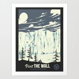 Visit the wall Art Print