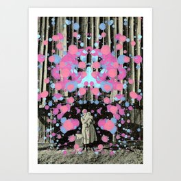 Don`t forget your Grandma! Art Print