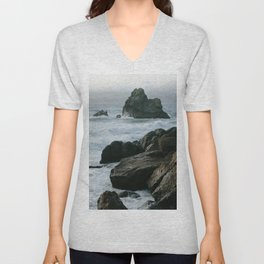 View of San Francisco Bay from Sutro Baths Unisex V-Neck