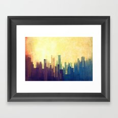 The Cloud City Framed Art Print
