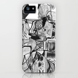Woman. iPhone Case