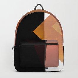 Mediterranean orange 2 of 3 Backpack