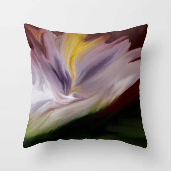 The madness within Throw Pillow