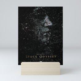 Space odyssey Girl Mini Art Print