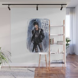 Punk Ghost King Wall Mural