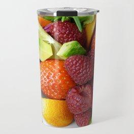 Fruits and Vegetables - Cafe or Kitchen Decor Travel Mug