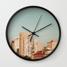 Springtime In Detroit Wall Clock