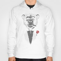 business Hoodies featuring Monkey Business by Alex Solis