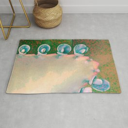 Kalanchoe Abstract Rug