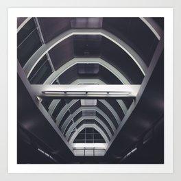 Airport Ceiling Art Print