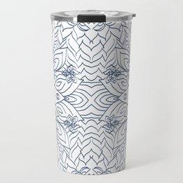 Blueflower Travel Mug
