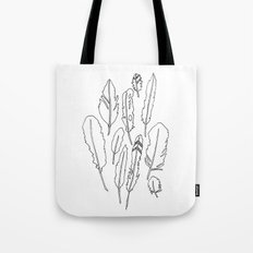 feather friends Tote Bag