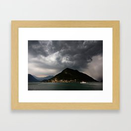 Storm incoming Framed Art Print