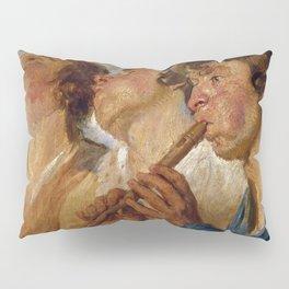"Jacob Jordaens ""Three Musicians"" Pillow Sham"